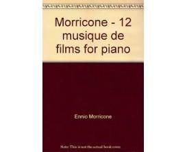 LIBRAIRIE - 12 musique de films Ennio Morricone pour piano - P. Beuscher