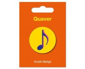 Badge - quaver