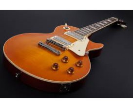 MAYBACH Lester Earl Grey 60's - Guitare type LP, Corps acajou, Slim taper aged, 2 micros Spirit of 59 Custom by Amber, Pots CTS