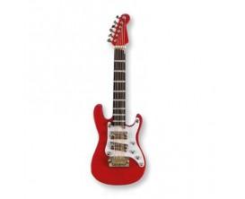 Magnet - Elec guitar rouge