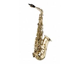 STAGG SAXOPHONE - Saxophone Alto en Mi Bémol - Cléf de FA aigu - Finition vernie claire - Etui fourni