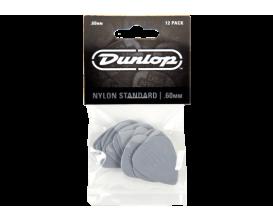 DUNLOP 44P60 - Sachet de 12 médiators Standart 0.6mm