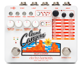 ELECTRO HARMONIX GRAND CANYON - pédale delay looper
