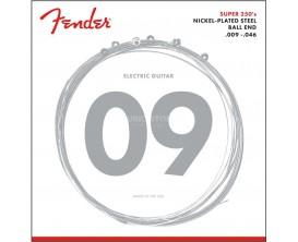 FENDER - 0730250404 - Super 250's Nickel-Plated Steel Strings 9-46