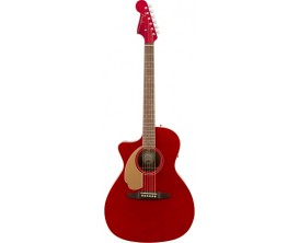 FENDER 097-0748-009 - Guitare électro acoustic Newporter lefty - RW - Candy Apple Red