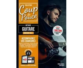 Coup De Pouce - Débutant Guitare Volume 1 (Fichiers Audio Inclus) - D. Roux M. Ghuzel - Editions Coup de Pouce