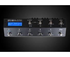 MUSICOMLAB EFX Mk V - Switcher professionnel pour pedalboard