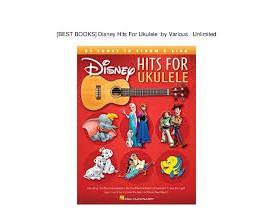 LIBRAIRIE - Disney hits pour ukulele - Walt Disney Music co