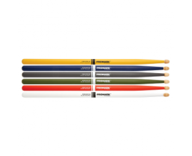 PROMARK RBH565AW / WHITE- Baguette Rebond 7A - Hickory - Blanche