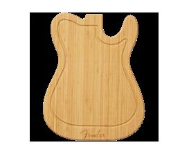 FENDER 0094033000 - Planche à découper en bambou - Forme télécaster