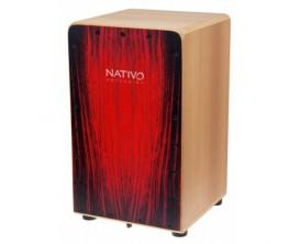 NATIVO PERCUSSION - Cajon Inicia - Red