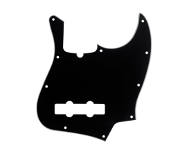 FENDER 0991351000 - Pickguard Jazz bass - 3 plis - 10 trous - Noir