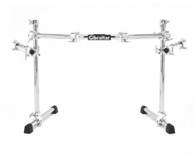 GIBRALTAR GCS-375C Chrome Curved Rack w/Wing Extensions