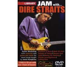 LIBRAIRIE - Jam with DIRE STRAITS DVD - Tutoriel et playback - Marck Knopfler - Ed Roadrock international