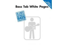 LIBRAIRIE - Bass tab white pages - version enregistrée- Hal Léonard