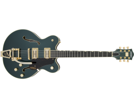 G6609TFM Players Edition Broadkaster® Center Block Double-Cut with String-Thru Bigsby®, USA Full'Tron™ Pickups, Gold hardware, L