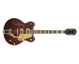 GRETSCH G5422TG EMTC HLW W/BIG WLN - Electromatic® Hollow Body Double-Cut with Bigsby® and Gold Hardware, Walnut Stain