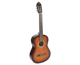 VALENCIA VC-204 SB - Guitare classique études 4/4, table épicéa, Finition sunburst