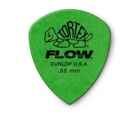 DUNLOP 558P088 - Sachet de 12 médiators Tortex Flow 0.88 mm