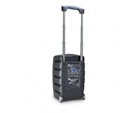 LD SYSTEMS ROADBUDDY 10 HBH 2 B5 - Sono portable sur batterie, lecteur multimedia USB SD, 1 Micro headset et 1 micro main fourni