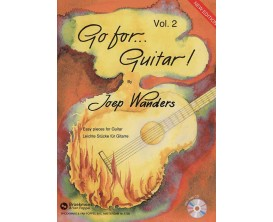 LIBRAIRIE - Go for guitar Vol. 2 - Joep Wanders