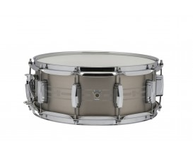 LUDWIG LSTLS5514 - Caisse claire Heirloom - Acier inoxydable - Finition brossée - Imperial lugs