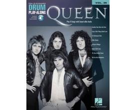 LIBRAIRIE - Drum Play Along Queen (CD inclus) - Hal Leonard