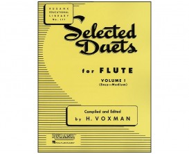 LIBRAIRIE - Selected Duets for flute volume 1 ( easy medium ) - H. VOXMAN