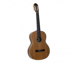 JUAN SALVADOR 6C - Guitare Classique 4/4, Table cèdre massif, Corps acajou, Naturel brillant