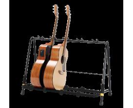 HERCULES GS525B - Rack repliable pour 5 guitares
