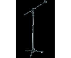HERCULES MS-632B - Pied de microphone escamotable EZ Height 2 en 1, 111.5-168 cm, trois pieds