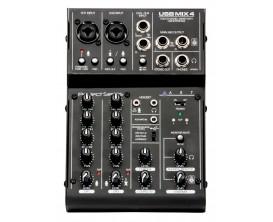 ART USBMIX4 - Carte son externe avec table de mixage intégrée 4 lignes