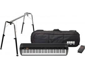 KORG SV1-88 BK Stage Vintage Piano - Pack access compris : Stand ST-SV1, Pédale EXP2 et Bag *