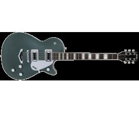 GRETSCH 2517110519 - G5220 Electromatic Jet, BT single cut, V stop tail, Walnut fingerboard, Jade grey metallic