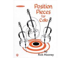 LIBRAIRIE Position pieces for cello book1 - Rick Mooney - Ed AMP