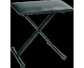 RTX BAX - Banquette piano, Hauteur réglable de 48 à 60 cm, noire