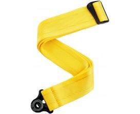 PLANET WAVES 50BAL07 - Courroie Auto Lock pour guitare, Mellow yellow