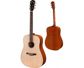 EASTMAN PCH1D - Dreadnought - Naturel satiné (housse fournie)