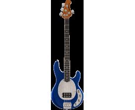 MUSIC MAN Stingray BLSP-RME-WP-C - 4 cordes, 1 Humbucker, Rosewood, Plaque white marine pearl, tectonic blue sparkle (avec étui