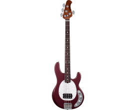 MUSIC MAN Stingray SPECIAL5 GMM RAY5-MRM-R-WP-C - 5 cordes, 1 Humbucker, Rosewood, Plaque white, Maroon Mist (avec étui)