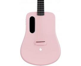 LAVA LA-0010 - Lava ME 2 Freeboost - Guitare électro-acoustique moulée, Super airsonic fibre de carbone, Finition : noire