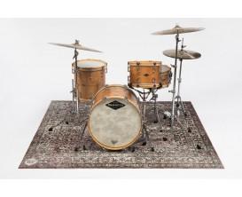 DRUMnBASE VP185 CW Vintage Persian Stage mats - Tapis pour batterie style persan - Grande surface - 185X160cm - Classic Worn