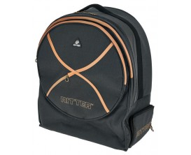 RITTER RDS7-SNB/MGB SESSION SNARE BACK PACK- Housse pour caisse claire ( version sac à dos ) 14x6.5 - Finition : mistygrey leath
