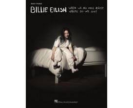 LIBRAIRIE - Billie Eilish - When we all fall asleep, where do we go? - Ed : Hal Léonard