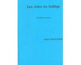LIBRAIRIE - Les joies du solfège ( Première année ) - André Waignein