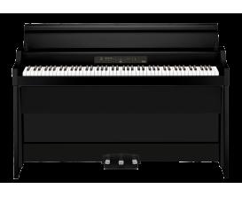 KORG G1B AIR-BK - Piano numérique meuble 88 notes, clavier RH3, système audio amélioré 4x20 W, noir