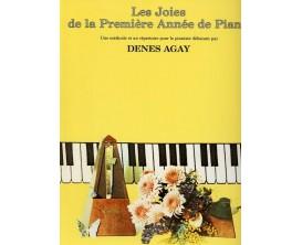 LIBRAIRIE - Les joies de la première année de piano - Denes Agay - Ed : EMF