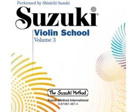 Suzuki Violin School Vol 3 - Book + CD - Alfred Publishing