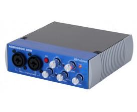PRESONUS Audiobox USB - Interface audio 24 bit/ 48 kHz, 2 entrées en facade ***