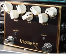 VEMURAM DJ1 - Bass overdrive 2 switchs on/off et boost